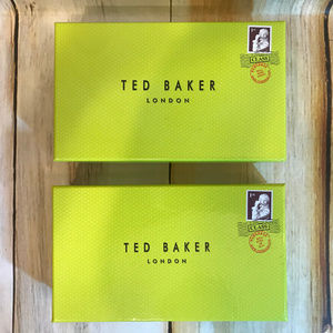 Ted Baker Signature Green Gift Box Lot of 2